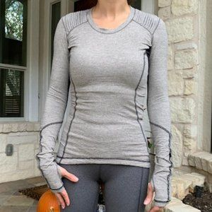 Lululemon Warm Ruffle Top with Pocket 4